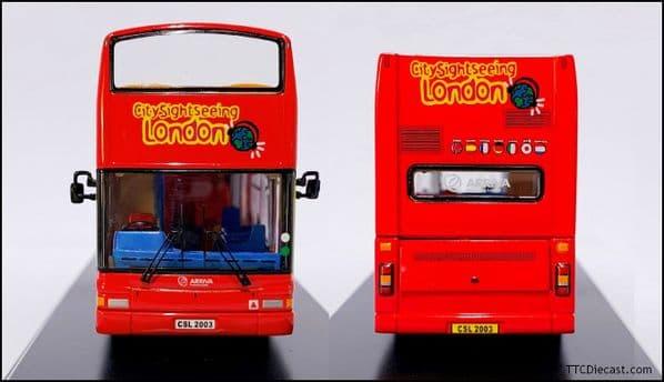 NORTHCORD UKBUS0002 Dennis Trident Plaxton President OT - LONDON CitySightseeing * PRE OWNED *